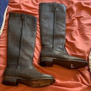 Grey Frye boots
